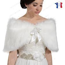 cape mariage delightful cape fourrure blanche mariage 6 cape mariage fausse