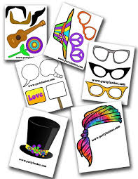 printable hippie photo booth props 12 best printable party decorations images on pinterest party fun