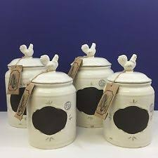essential home ceramic kitchen canisters u0026 jars ebay
