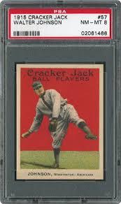 1915 cracker walter johnson psa cardfacts