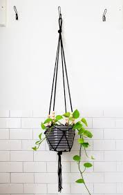 Modern Hanging Planters Diy Home Decor 15 Takes On Classic Macrame Hanging Planters