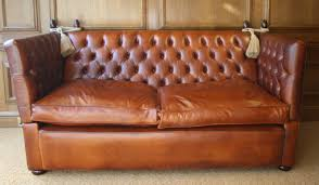 Buttoned Leather Knole Sofa Leather Chairs Of Bath Antique And - Leather chairs and sofas