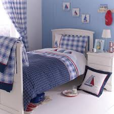 Dunelm Mill Duvets Kids Blue Sail Away Collection Duvet Cover Set Dunelm Boys