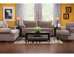 paige microsuede sofa stone paiges s the brick living
