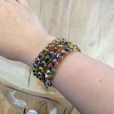 wrap bracelet 4 steps with pictures