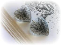 jewelry made from hair lock of hair keepsake pet keepsake gifts hair jewellery
