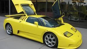 yellow bugatti michael schumacher u0027s bugatti eb110 for sale