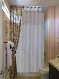 Curtain In Bathroom Extra Wide Shower Curtain Fabric Shower Curtain Extra Long Extra