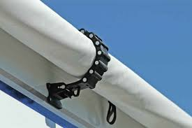 rv awning clamp black camco 42556 awning accessories