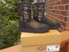 ugg womens lyla boots charcoal ugg australia s lyla boots size 9 ebay