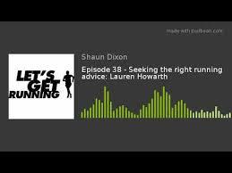 Seeking Text Episode Episode 38 Seeking The Right Running Advice Howarth