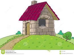 fairy house pigs fairy tale stock vector image