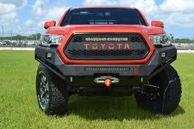 toyota tacoma front bumper guard toyota tacoma front bumper 2016 proline 4wd equipment miami