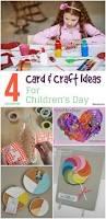 4 fun u0026 interesting card u0026 craft ideas for children u0027s day