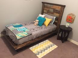 Diy Platform Bed Frame Twin by Diy Platform Bed U0026 Headboard Twin Shanty 2 Chic