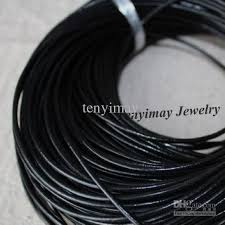 cord necklace wholesale images 2mm black genuine leather necklace cords fashion jewelry accessory jpg