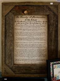framed family proclamation the clan craft fair
