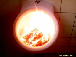 Burning Toaster Burning Toilet By Silvertoaster On Deviantart