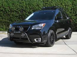 subaru forester off road lifted 2014 subaru forester roof light bar mouse over images for