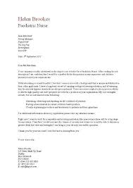 nursing cover letter example nursing cover letter examples