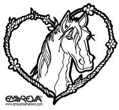 296 dessins de coloriage cheval à imprimer sur LaGuerchecom  Page 10