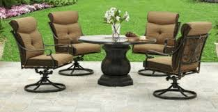 Better Homes And Gardens Azalea Ridge 4 Piece Patio Aluminum Patio Furniture Outdoor Room Ideas