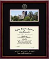 tech diploma frame virginia polytechnic institute and state diploma