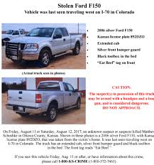 ford black friday 2017 sheriff truck of kansas homicide victim was in colorado