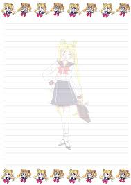 writing paper for letters sadadoki s more sailor moon writing paper for free use