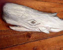 blue whale 60 chainsaw wooden whale carving