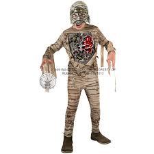 Kids Mummy Halloween Costume Boys Halloween Mask Scary Fancy Dress Costume Movie Kids