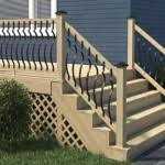 yli tuhat ideaa stair railing kits pinterestiss portaat vinyl