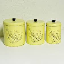 yellow canister sets kitchen 126 best yellow canisters images on canister sets