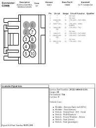 2010 f150 wiring diagram 24 u0026 16 pin connectors my truck harness