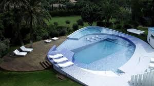 amazing modern swimming pool design gray modern pool chair and