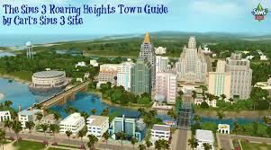 sims 3 roaring heights world collectible maps u0026 rollercoasters