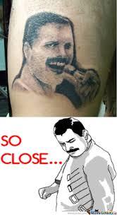 Freddie Mercury Meme - freddie mercury tattoo by lukap2501 meme center