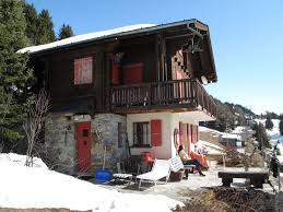 quaint quiet area in the swiss chalet style with fabulous views