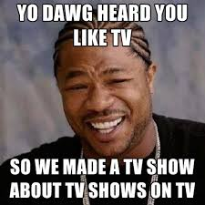 Tv Memes - yo dawg heard you like tv so we made a tv show about tv shows on