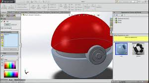 solidworks 2014 easy tutorial designing a pokeball voice guided