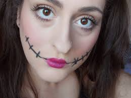 cute and creepy doll makeup for halloween beauty lifestyle