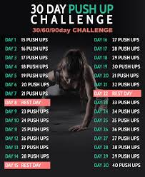 The Challenge How To Do It 30 Day Push Up Challenge 306090 D