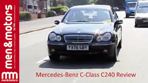 2002 mercedes benz c class c240 review youtube