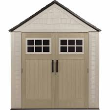 outdoor lawn mower shed rubbermaid storage shed vinyl sheds