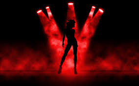 wallpaper download 5120x3200 a dancing in the red lights