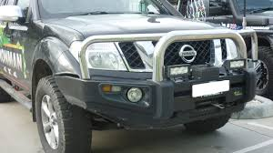 nissan pathfinder nudge bar fitting instructions r51 pathfinder recessed line in oe bumper protector bull bar