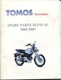 tomos streetmate spare parts manual 2005 2007 research claynes