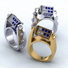 doctor who engagement ring update spinning tardis ring by paul michael design we