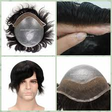 thining hair in men front thin skin with lace front men s toupee natural hairline men hair