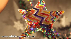 christmas craft make a christmas tree hanging ornament tutorial